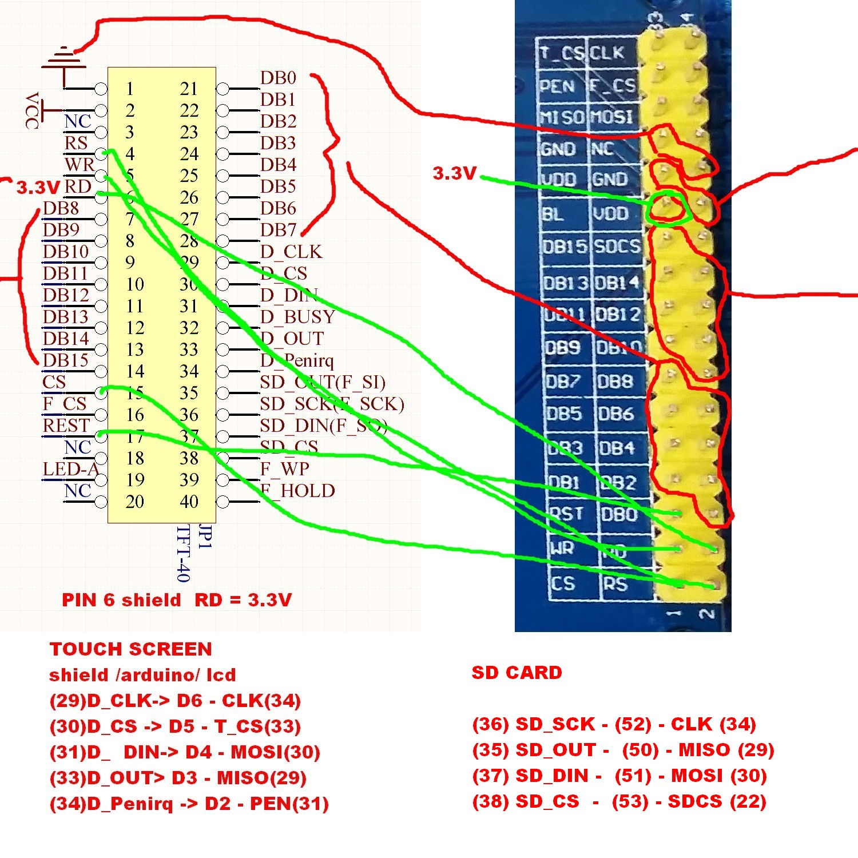 qdtech 3 2 tft lcd touch screen white screen arduino mega without rh forum arduino cc Binary to LCD Wiring Servo Reverser Wiring-Diagram